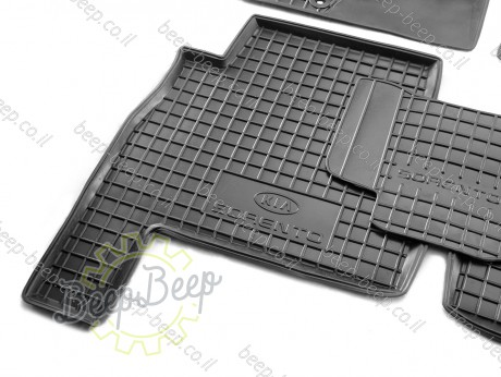 AV-G Car Floor Mats for KIA SORENTO II 2009—2012 Custom Fit All Weather Liners - Picture 7