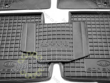 AV-G Car Floor Mats for KIA SORENTO II 2009—2012 Custom Fit All Weather Liners - Picture 9