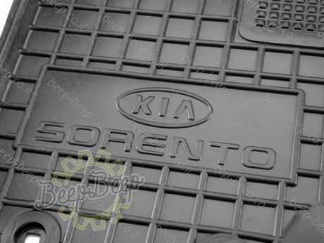 AV-G Car Floor Mats for KIA SORENTO II 2009—2012 Custom Fit All Weather Liners - Picture 10