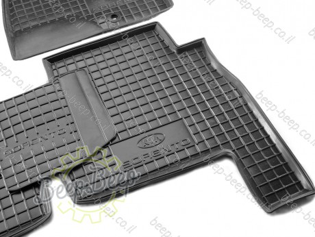 AV-G Car Floor Mats for KIA SORENTO II 2009—2012 Custom Fit All Weather Liners - Picture 11