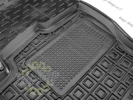 AV-G Car Floor Mats for VOLKSWAGEN TOURAN II 2016—2021 Custom Fit All Weather Liners - Picture 4