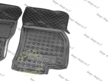 AV-G Car Floor Mats for VOLKSWAGEN TOURAN II 2016—2021 Custom Fit All Weather Liners - Picture 5
