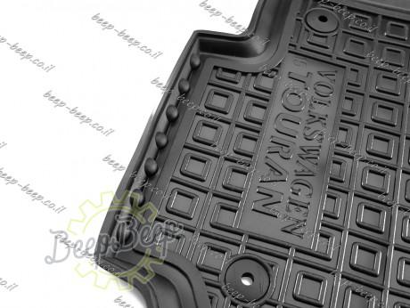 AV-G Car Floor Mats for VOLKSWAGEN TOURAN II 2016—2021 Custom Fit All Weather Liners - Picture 6