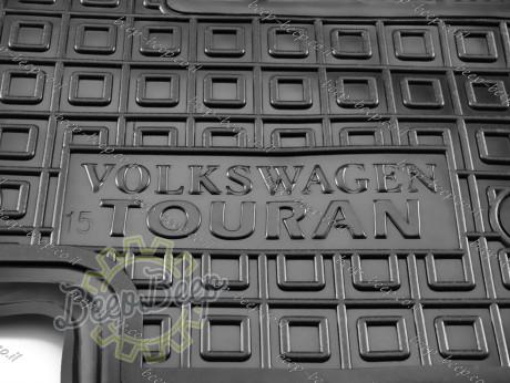 AV-G Car Floor Mats for VOLKSWAGEN TOURAN II 2016—2021 Custom Fit All Weather Liners - Picture 12