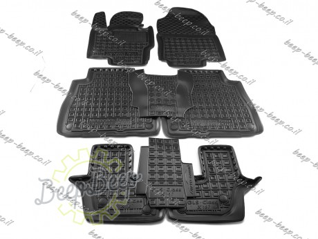 AV-G Car Floor Mats for MERCEDES GLS-CLASS X167 2020—2021 Custom Fit All Weather Liners - Picture 1