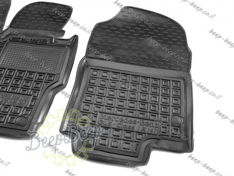 AV-G Car Floor Mats for MERCEDES GLS-CLASS X167 2020—2021 Custom Fit All Weather Liners - Picture 5