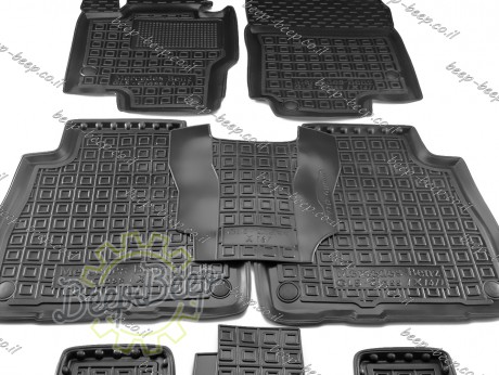 AV-G Car Floor Mats for MERCEDES GLS-CLASS X167 2020—2021 Custom Fit All Weather Liners - Picture 8