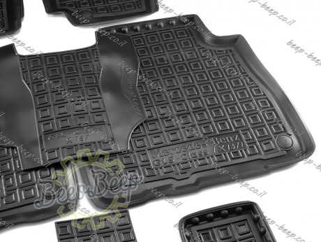 AV-G Car Floor Mats for MERCEDES GLS-CLASS X167 2020—2021 Custom Fit All Weather Liners - Picture 9