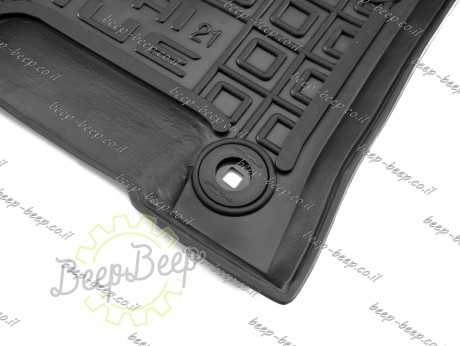 AV-G Car Floor Mats for HYUNDAI VENUE 2019—2021 Custom Fit All Weather Liners - Picture 7