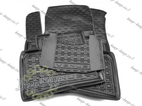 AV-G Car Floor Mats for HYUNDAI VENUE 2019—2021 Custom Fit All Weather Liners - Picture 11