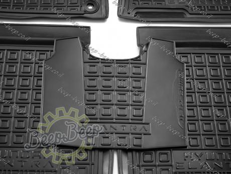 AV-G Car Floor Mats for HYUNDAI ELANTRA CN7 2021—2022 Custom Fit All Weather Liners - Picture 9
