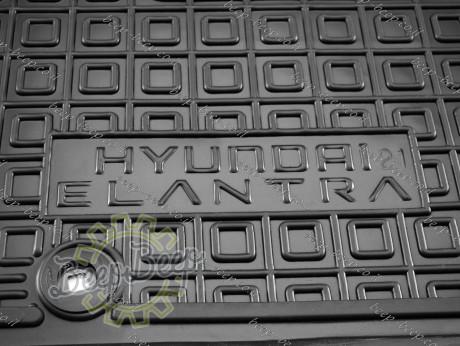 AV-G Car Floor Mats for HYUNDAI ELANTRA CN7 2021—2022 Custom Fit All Weather Liners - Picture 12