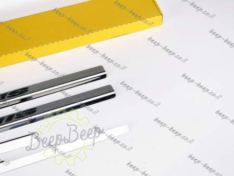 N.Niko Door sill lining for SUZUKI IGNIS 2017—2021 Chrome Scuff Plate Cover - Picture 6