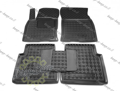 AV-G Car Floor Mats for FORD KUGA III 2019—2022 Custom Fit All Weather Liners - Picture 1