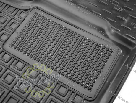 AV-G Car Floor Mats for FORD KUGA III 2019—2022 Custom Fit All Weather Liners - Picture 4