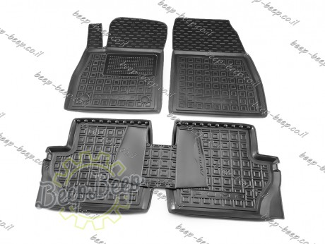 AV-G Car Floor Mats for FORD PUMA I 2019—2022 Custom Fit All Weather Liners - Picture 1