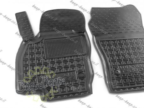 AV-G Car Floor Mats for VOLKSWAGEN T-CROSS 2019—2022 Custom Fit All Weather Liners - Picture 2