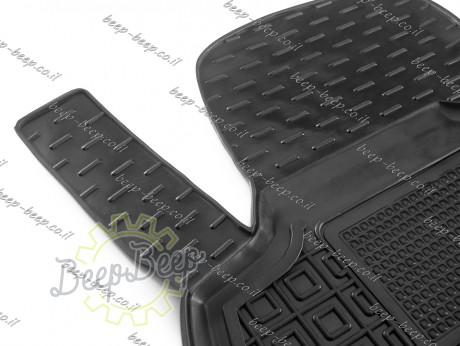 AV-G Car Floor Mats for VOLKSWAGEN T-CROSS 2019—2022 Custom Fit All Weather Liners - Picture 3