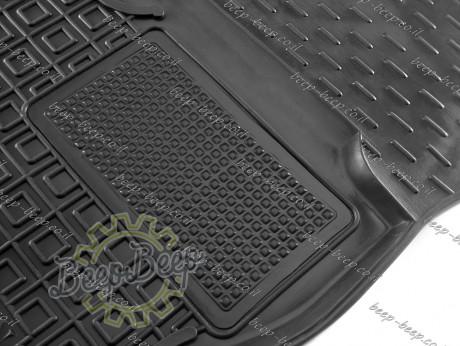 AV-G Car Floor Mats for VOLKSWAGEN T-CROSS 2019—2022 Custom Fit All Weather Liners - Picture 4