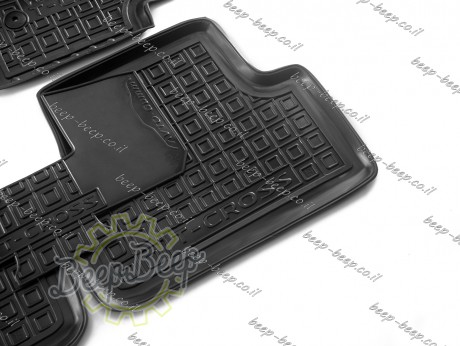 AV-G Car Floor Mats for VOLKSWAGEN T-CROSS 2019—2022 Custom Fit All Weather Liners - Picture 10
