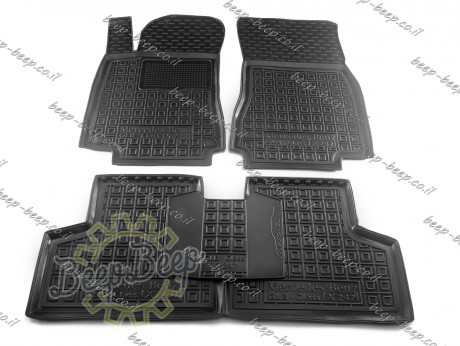 AV-G Car Floor Mats for MERCEDES GLB-CLASS X247 2019—2022 Custom Fit All Weather Liners - Picture 1