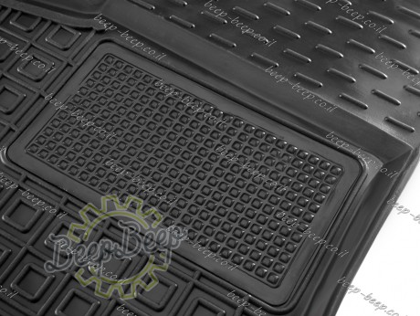 AV-G Car Floor Mats for MERCEDES GLB-CLASS X247 2019—2022 Custom Fit All Weather Liners - Picture 4