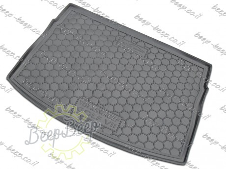 AV-G Fully Tailored Rubber / Cargo Mat Tray Trunk Boot Liner for VOLKSWAGEN GOLF 7 HATCHBACK 2015—2018 - Picture 2