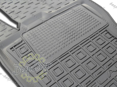 AV-G Fully Tailored Rubber / Set of 5 Car Floor Mats Carpet for LAND ROVER RANGE ROVER VELAR I 2017—2019 - Picture 2