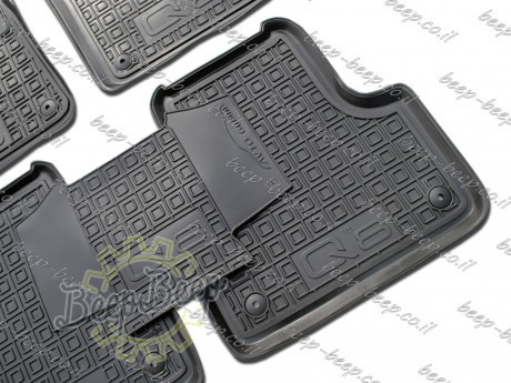 AV-G Car Floor Mats for AUDI Q8 I 2018—2020 Custom Fit All Weather Liners - Picture 6