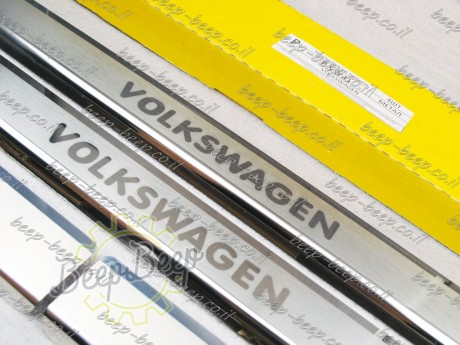 N.Niko Door sill lining / Chrome cover / Scuff plate for VOLKSWAGEN ARTEON 2017—2020 - Picture 5
