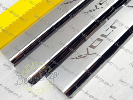 N.Niko Door sill lining / Chrome cover / Scuff plate for CHEVROLET VOLT I 2010—2015 - Picture 6