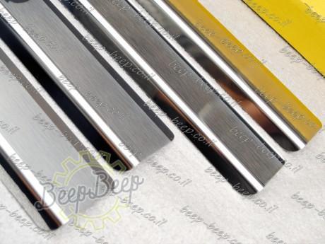 N.Niko Door sill lining / Chrome cover / Scuff plate for SKODA KODIAQ I 2016—2019 - Picture 5