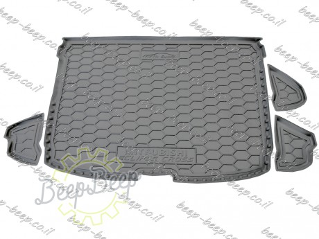 AV-G Fully Tailored Rubber / Cargo Mat Tray Trunk Boot Liner for MITSUBISHI ECLIPSE CROSS 2017—2020 - Picture 2