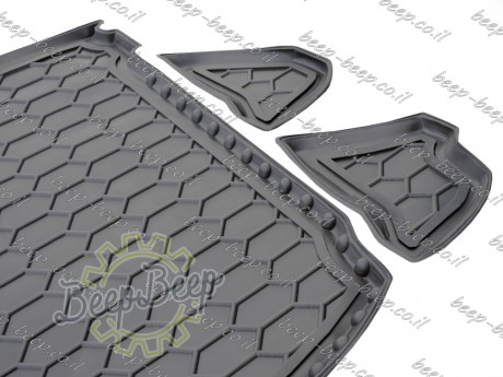 AV-G Fully Tailored Rubber / Cargo Mat Tray Trunk Boot Liner for MITSUBISHI ECLIPSE CROSS 2017—2020 - Picture 3