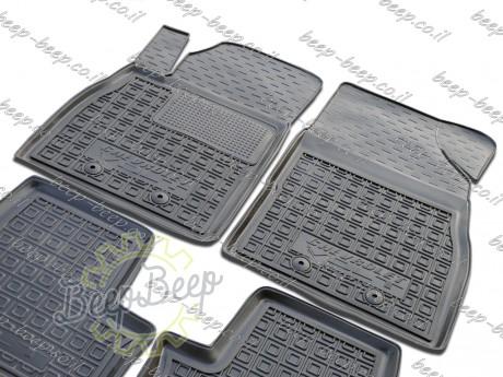 AV-G Fully Tailored Rubber / Set Car Floor Mats Carpet for CHEVROLET VOLT I 2010—2015 - Picture 3