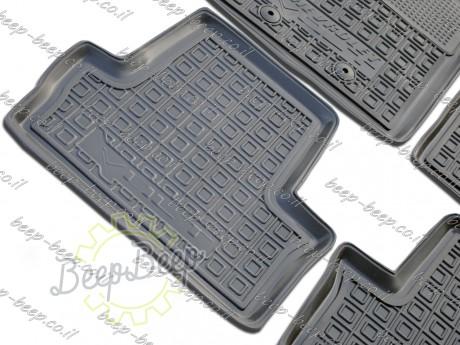 AV-G Fully Tailored Rubber / Set Car Floor Mats Carpet for CHEVROLET VOLT I 2010—2015 - Picture 4
