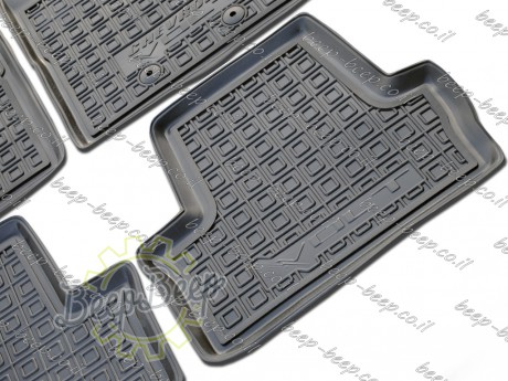 AV-G Fully Tailored Rubber / Set Car Floor Mats Carpet for CHEVROLET VOLT I 2010—2015 - Picture 5