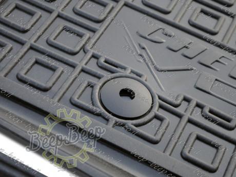 AV-G Fully Tailored Rubber / Set Car Floor Mats Carpet for CHEVROLET VOLT I 2010—2015 - Picture 7
