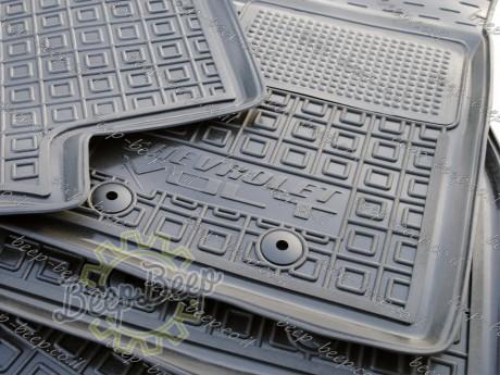 AV-G Fully Tailored Rubber / Set Car Floor Mats Carpet for CHEVROLET VOLT I 2010—2015 - Picture 8