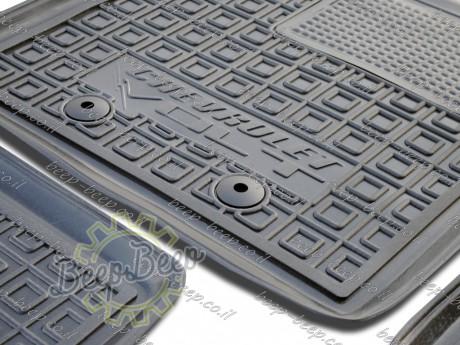 AV-G Fully Tailored Rubber / Set Car Floor Mats Carpet for CHEVROLET VOLT I 2010—2015 - Picture 9