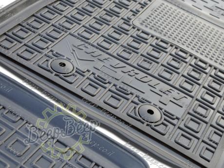 AV-G Fully Tailored Rubber / Set Car Floor Mats Carpet for CHEVROLET VOLT I 2010—2015 - Picture 12
