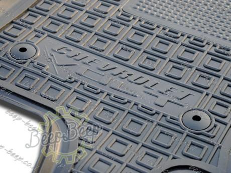 AV-G Fully Tailored Rubber / Set Car Floor Mats Carpet for CHEVROLET VOLT II 2016—2020 - Picture 2