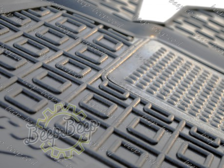 AV-G Fully Tailored Rubber / Set Car Floor Mats Carpet for CHEVROLET VOLT II 2016—2020 - Picture 9