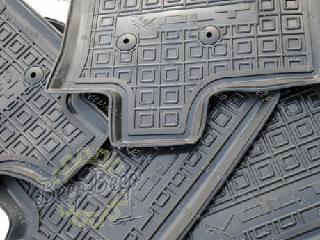 AV-G Fully Tailored Rubber / Set Car Floor Mats Carpet for CHEVROLET VOLT II 2016—2020 - Picture 10