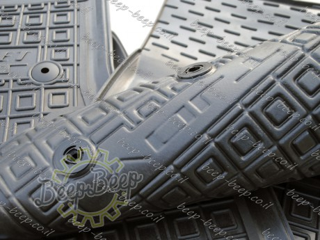 AV-G Fully Tailored Rubber / Set Car Floor Mats Carpet for CHEVROLET VOLT II 2016—2020 - Picture 12