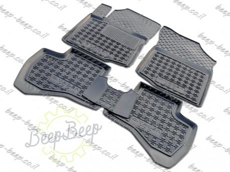 AV-G Fully Tailored Rubber / Set of 5 Car Floor Mats Carpet for CITROEN C1 II 2018—2020 - Picture 1