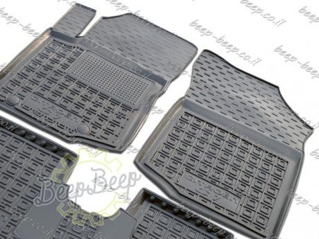 AV-G Fully Tailored Rubber / Set of 5 Car Floor Mats Carpet for CITROEN C1 II 2018—2020 - Picture 2