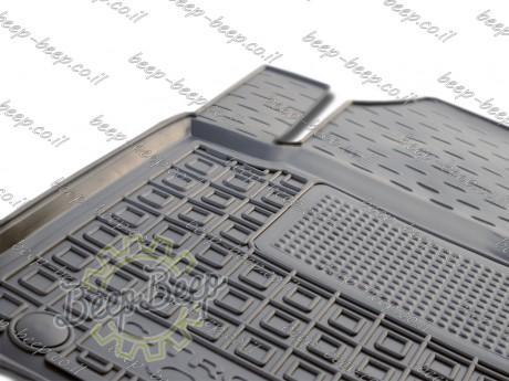 AV-G Fully Tailored Rubber / Set of 5 Car Floor Mats Carpet for CITROEN C1 II 2018—2020 - Picture 7