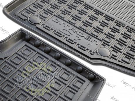 AV-G Fully Tailored Rubber / Set of 5 Car Floor Mats Carpet for CITROEN C1 II 2018—2020 - Picture 9
