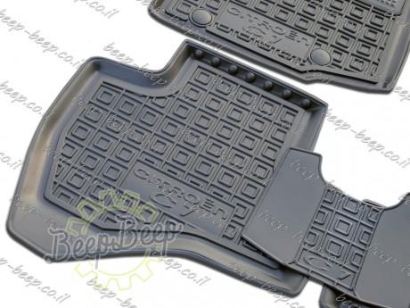 AV-G Fully Tailored Rubber / Set of 5 Car Floor Mats Carpet for CITROEN C1 II 2018—2020 - Picture 11